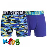 CR7 Underwear Boxershorts kids 2-pack Blue Camo