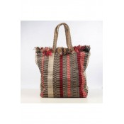 PIECES Nela Shopper Sww - Grenadine