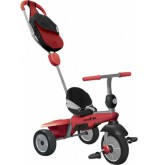 Smartrike - Breeze Gl Junior Zwart/rood