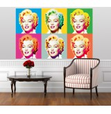 Muurposter Visions of Marilyn